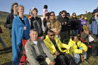 Savjey, Maili Lama, Mohan Rai in Greenland 2009
