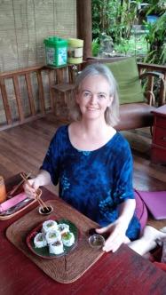 Sushi in Bali
