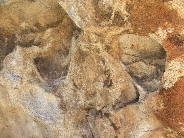 Close up of rock art 3